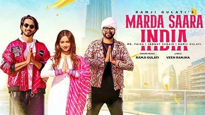 Marda-Saara-India-Ramji-Gulati-Jannat-Zubair-Mr-Faisu-lyrics-English