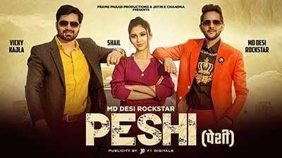 Peshi-MD-Desi-Rockstar-lyrics-Vicky-Kajla