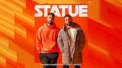 Statue-Arjun-Kanungo-Fotty-Seven-lyrics