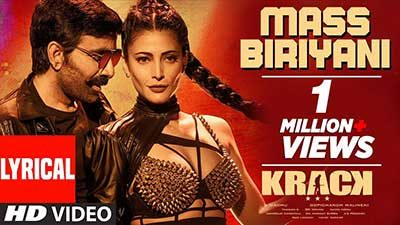 Mass Biryani Lyrics – Krack (Movie)   Raviteja