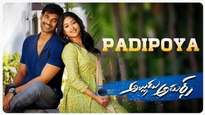 Padipoya-Lyrics-Alludu-Adhurs-Telugu
