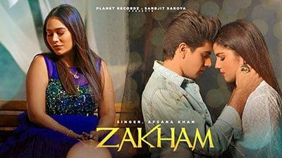 Zakham-lyrics-Afsana-Khan