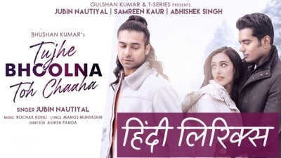 Tujhe Bhoolna To Chaha Lekin Bhula Na Paye Hindi Lyrics Jubin Nautiyal