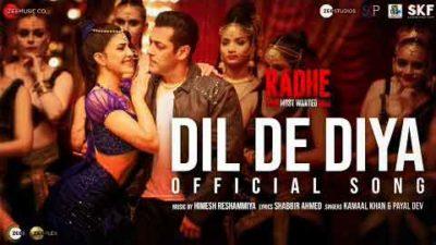 Dil-De-Diya-Radhe-Salman-Khan-lyrics-Hindi