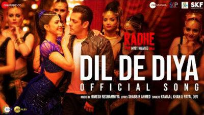 Dil De Diya Lyrics Translation – Radhe