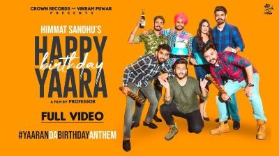 Happy Birthday Yaara Lyrics – Himmat Sandhu