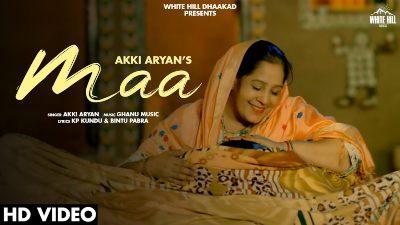 MAA Lyrics – Akki Aryan