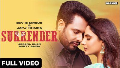 SURRENDER Lyrics – Afsana Khan