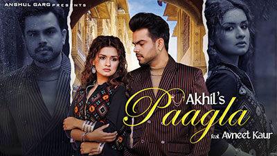 Paagla Lyrics – Akhil