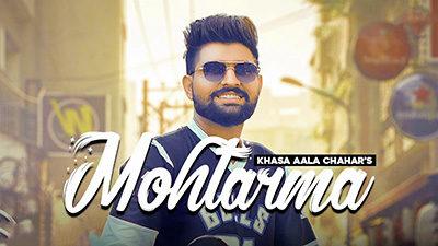 Mohtarma Lyrics — Khasa Aala Chahar | Upasana Gahlot