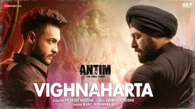 Vighnaharta Lyrics — ANTIM | Ajay Gogavale