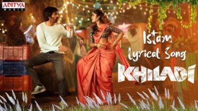 Istam Lyrics — Khiladi   Hariprriya